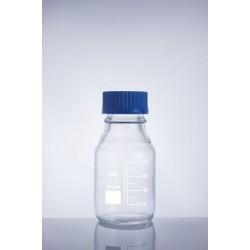 Bottle media screw cap clear color